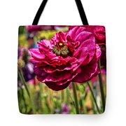 Tecolote Ranunculus Flowers By Diana Sainz Tote Bag