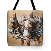Ted And Tom Tote Bag by Kim Lockman
