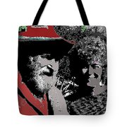 Ted  Degrazia  Singer Sammi Smith  Dick Frontain Photo Gallery In The Sun Tucson Arizona C.1977-2013 Tote Bag