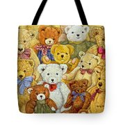 Ted Patch Tote Bag