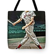 Ted Williams Painting Tote Bag
