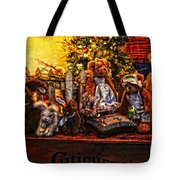 Teddy And Friends Tote Bag