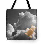Teddy Bear Cloud Tote Bag
