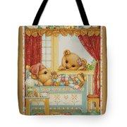 Teddy Bear Friends Tote Bag