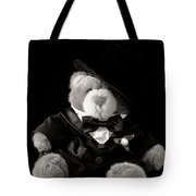 Teddy Bear Groom Tote Bag by Edward Fielding