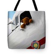 Teddy Bear Pilot Tote Bag