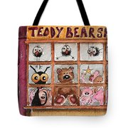 Teddy Bear Shop Tote Bag