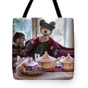 Teddy Bear Tea Party Tote Bag
