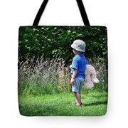 Teddy Bear Walk Tote Bag