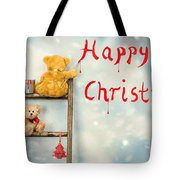 Teddy Bears At Christmas Tote Bag