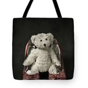 Teddy In Pumps Tote Bag