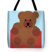 Teddy Snapshot Tote Bag