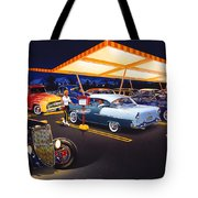 Teds Drive-in Tote Bag
