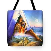 Teepee Of Dreams Tote Bag