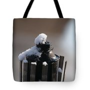 Teki Torch In Snow Tote Bag