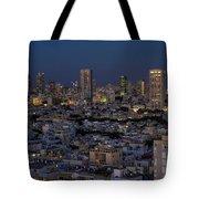 Tel Aviv At The Twilight Magic Hour Tote Bag
