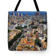 Tel Aviv Eagle Eye View Tote Bag