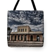 Tel Aviv First Railway Station Tote Bag