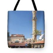 Tel Aviv Old Town Street Tote Bag
