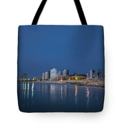Tel Aviv The Blue Hour Tote Bag