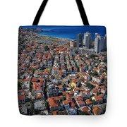 Tel Aviv - The First Neighboorhoods Tote Bag