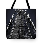 Telecommunications Tower Tote Bag
