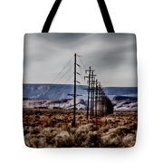 Telegraph Road Tote Bag