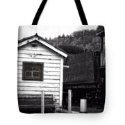 Telegraphing Home Tote Bag