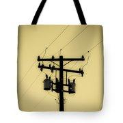 Telephone Pole 1 Tote Bag