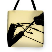 Telephone Pole And Sneakers 6 Tote Bag