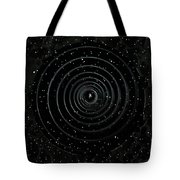 Teleport Through Green Space Tote Bag
