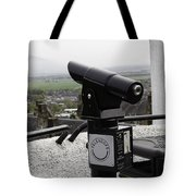 Telescope Near The Entrance Of Stirling Castle Tote Bag