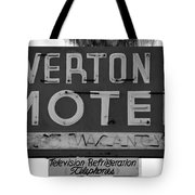 Television Refigeration And Telephones Tote Bag