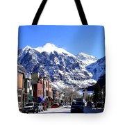 Telluride Colorado Tote Bag
