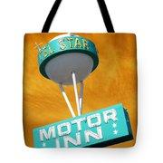 Telstar Motor Inn - Orange Tote Bag