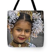 Tembleque Headdress Tote Bag