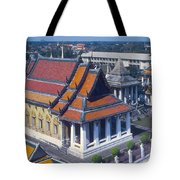 Temple Of Dawn Tote Bag