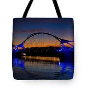 Tempe Town Lake At Sunset  Tote Bag