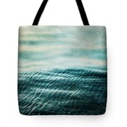 Tempest Ocean Landscape In Shades Of Teal Tote Bag