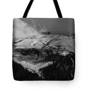 Tempest On Teapot Mountain Tote Bag