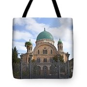 Tempio Maggiore  The Great Synagogue Of Florence Tote Bag