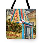 Colorful Temple - Rishikesh India Tote Bag