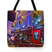 The Temple Bar Pub Dublin Ireland Tote Bag