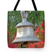 Beautiful Temple Bell At Vishwanath - Himalayas India Tote Bag