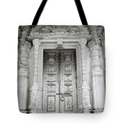 The Ancient Temple Door Tote Bag