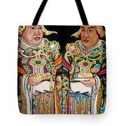 Temple Doors 01 Tote Bag