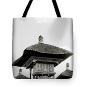 Temple In Ubud Tote Bag