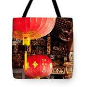 Temple Lanterns 02 Tote Bag