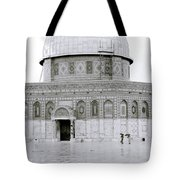 Temple Mount Tote Bag