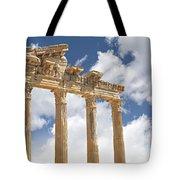 Temple Of Apollo Tote Bag